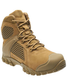 Bates Men's Shock FX Work Boots - Soft Toe, Tan, hi-res