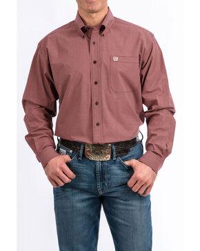 Cinch Men's Multi Tencel Plaid Long Sleeve Western Shirt , Multi, hi-res