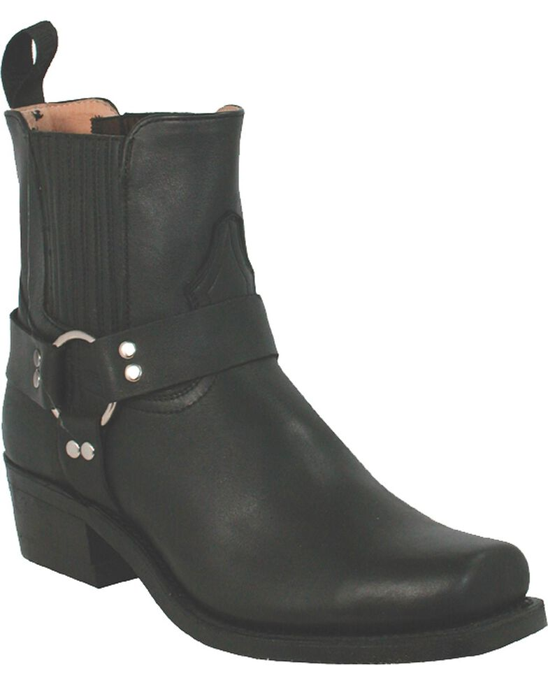 Boulet Motorcycle Boots - Square Toe, Black, hi-res