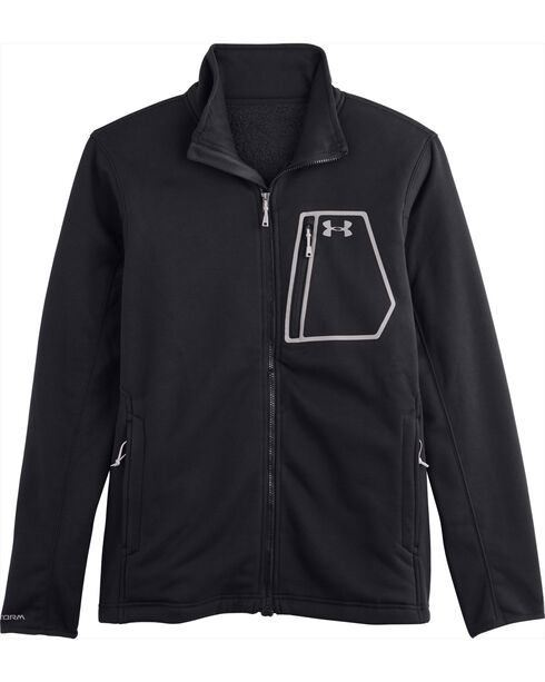 Under Armour Men's UA Storm Extreme Water-Resistant ColdGear Jacket, Black, hi-res