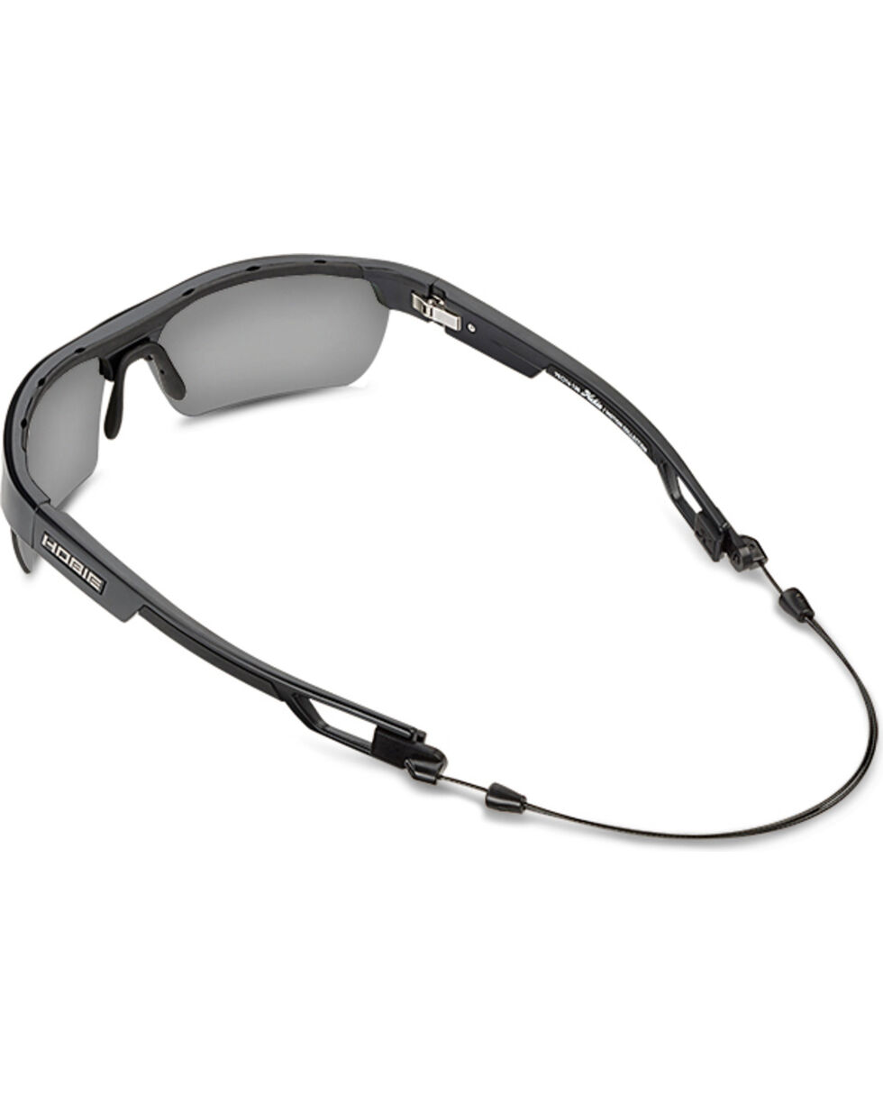 Hobie Men's Grey and Satin Black Manta Polarized Sunglasses , Black, hi-res