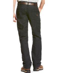 Ariat Men's FR M4 Black Workhorse Pants - Boot Cut, Black, hi-res