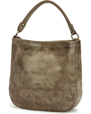 Frye Women's Melissa Hobo Bag , Grey, hi-res