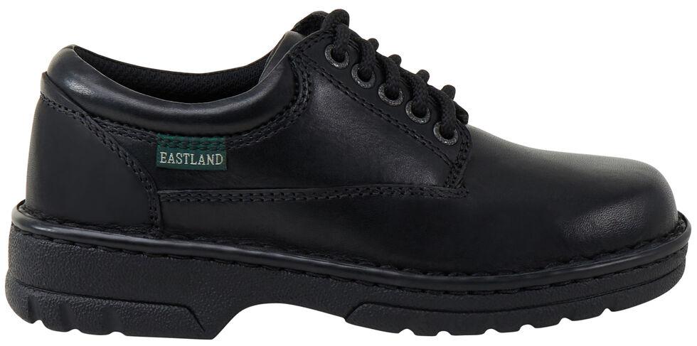 Eastland Women's Black Plainview Oxfords , , hi-res