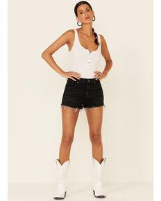 Wrangler Women's Black Festival Short Shorts, Black, hi-res