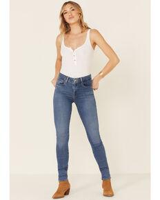 Levi's Women's 721 Hustle Skinny Jeans, Blue, hi-res
