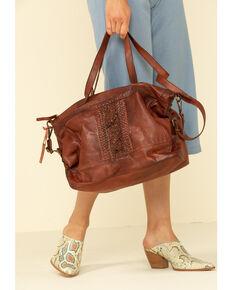 Idyllwind Women's It's Never Full Satchel Bag, Brown, hi-res