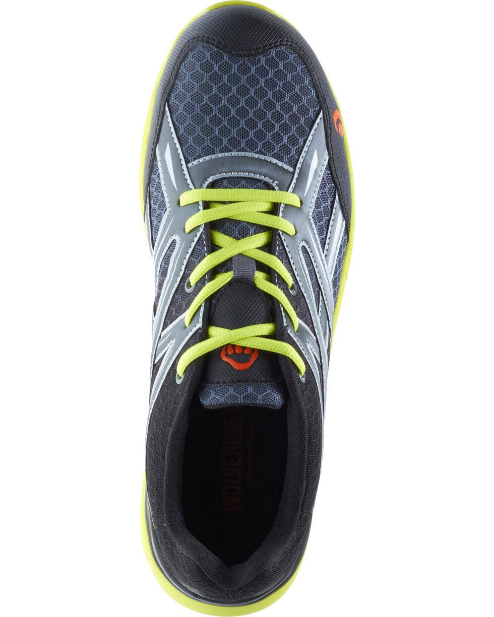 Wolverine Men's Jetstream Work Shoes - Composite Toe, Grey, hi-res