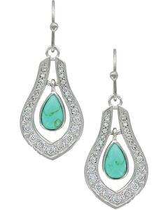 Montana Silversmiths Women's Silver School of Nature Earrings , Silver, hi-res