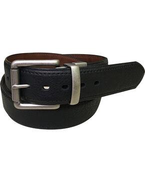 Berne Men's Reversible Leather Belt , Black, hi-res