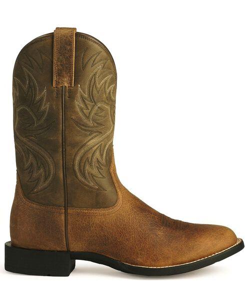 Ariat Heritage Horseman Cowboy Boots, Earth, hi-res