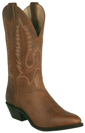 Boulet Rider Cowboy Boots - Medium Toe, Golden Tan, hi-res