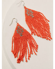 Idyllwind Women's Beaded You To It Coral Earrings, Coral, hi-res
