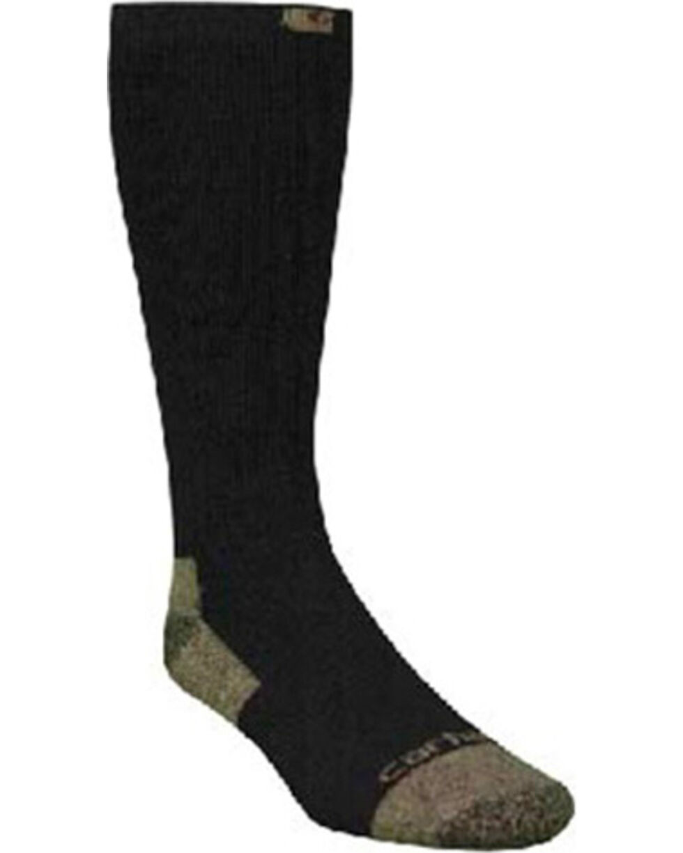 Carhartt Black Full Cushion Steel-Toe Cotton Work Boot Socks - 2 Pack, , hi-res