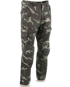 "Milwaukee Performance Men's 34"" Aramid Reinforced Camo Cargo Jeans, Camouflage, hi-res"