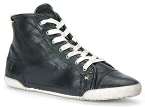Frye Women's Melanie High-ASV Sneakers, Black, hi-res