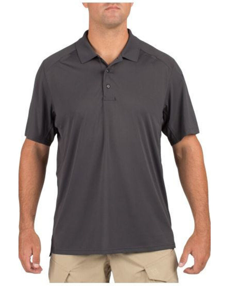 5.11 Tactical Helios Short Sleeve Polo, Charcoal Grey, hi-res