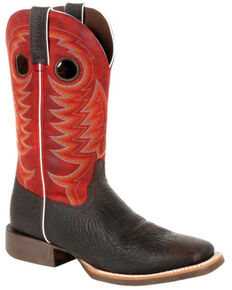 Durango Men's Rebel Pro Crimson Western Boots - Square Toe, Chestnut, hi-res