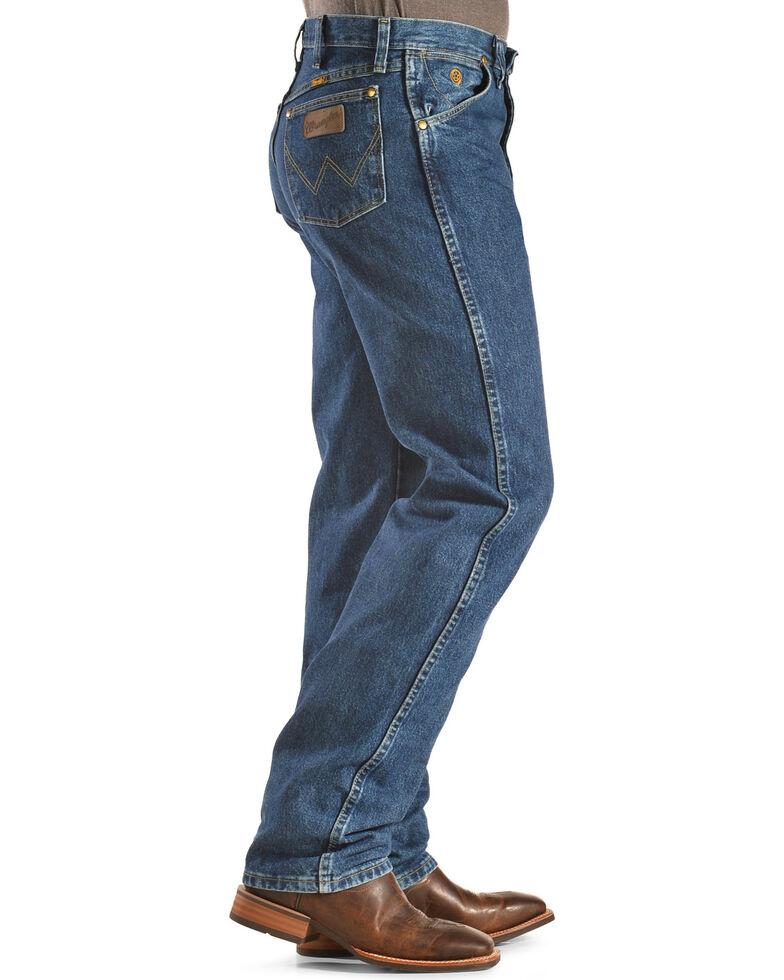 George Strait by Wrangler Men's Cowboy Cut Original Fit Jeans , Denim, hi-res