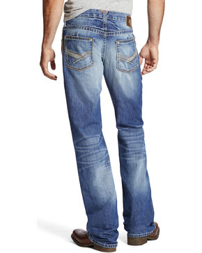 Ariat Men's Indigo M6 Drifter Slim Fit Jeans - Boot Cut , Indigo, hi-res