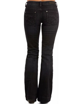 Rock & Roll Cowgirl Women's Low Rise Trouser Jeans, Blue, hi-res