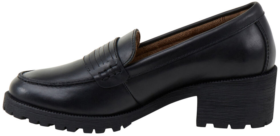 Eastland Women's Black Newbury Penny Loafers, , hi-res
