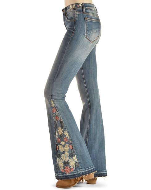 Driftwood Women's Blue Farrah Flare Jeans - Boot Cut , Blue, hi-res