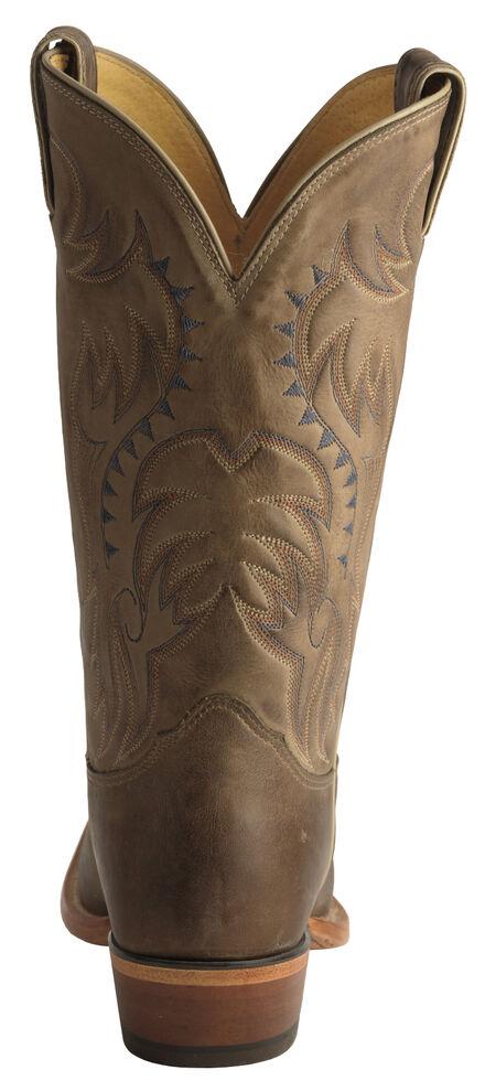 Nocona Men's Legacy Vintage Cowboy Boots - Narrow Square Toe , Tan, hi-res