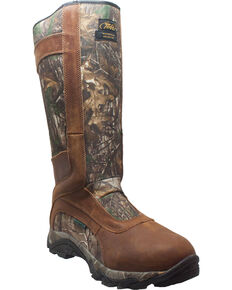 "AdTec Men's 15"" Real Tree Waterproof Snake Bite Boots , Camouflage, hi-res"