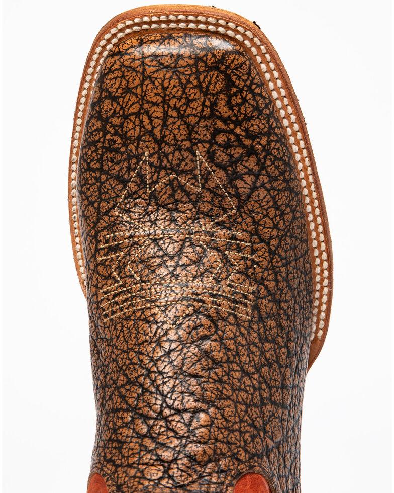 Cody James Men's Macho Sicario Western Boots - Wide Square Toe, Red/brown, hi-res