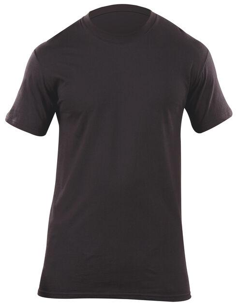 5.11 Tactical Men's Utili-T Crew Shirts 3-Pack, Black, hi-res