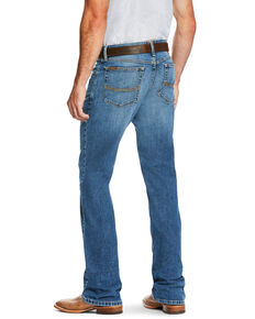 Ariat Men's M2 Brandon Legacy Relaxed Stackable Bootcut Jeans - Big , Blue, hi-res