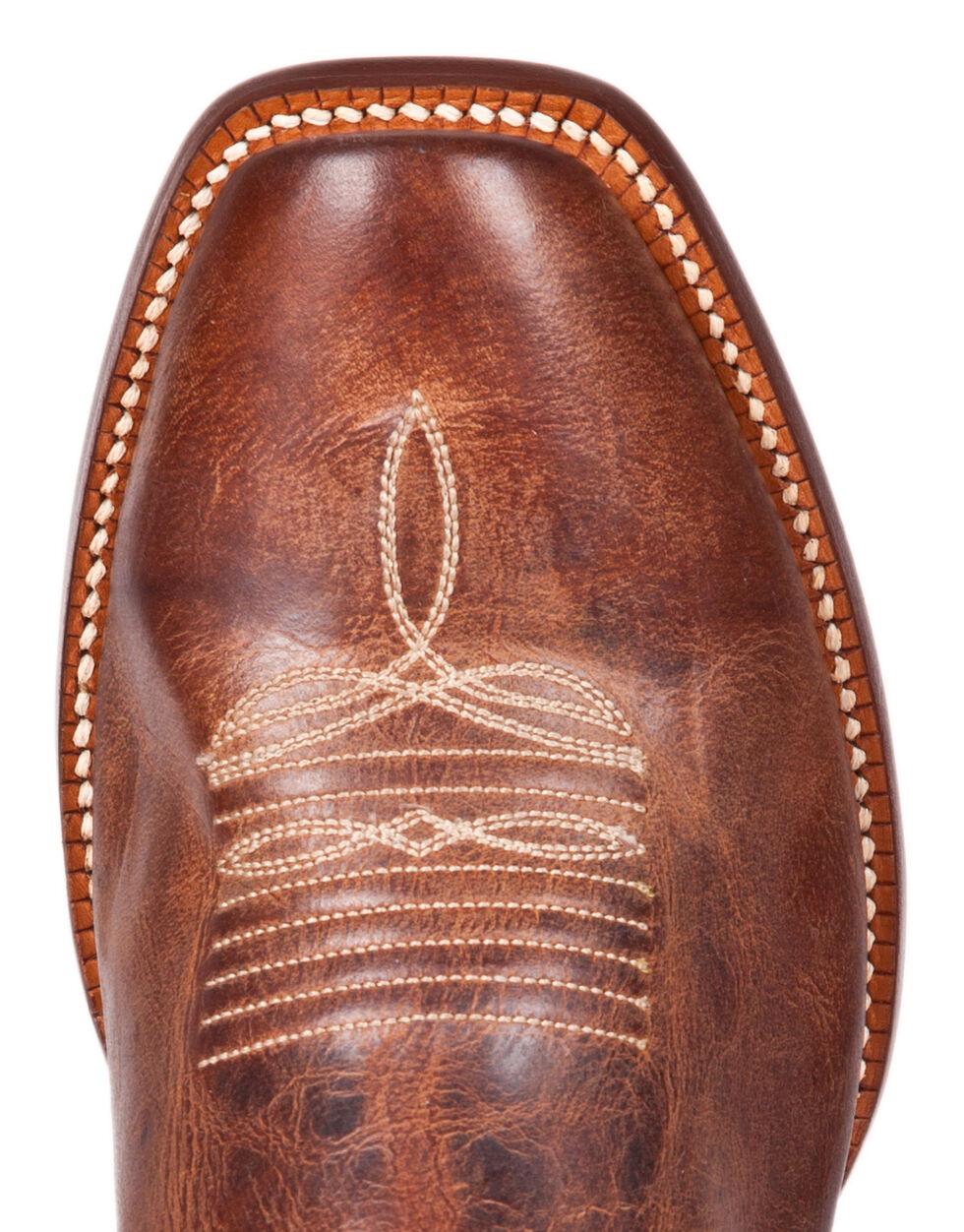 Cinch Men's Galaxias Gold Goat Western Boots - Square Toe, Rust, hi-res