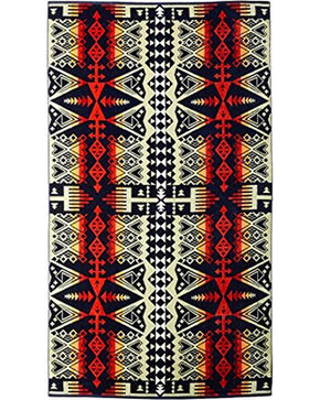 Pendleton Arrow Revival Beach Towel, Navy, hi-res