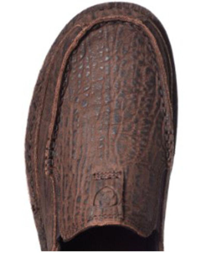 Ariat Men's Bison Cruiser Shoes - Moc Toe, Brown, hi-res