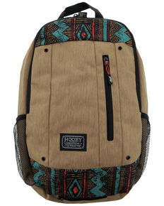 HOOey Rockstar Brown Aztec Backpack, Brown, hi-res