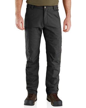 Carhartt Men's Rugged Flex Upland Field Pants - Straight Leg, Black, hi-res