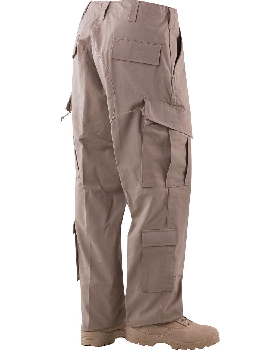 Tru-Spec Tactical Response Camo RipStop Uniform Pants, Khaki, hi-res