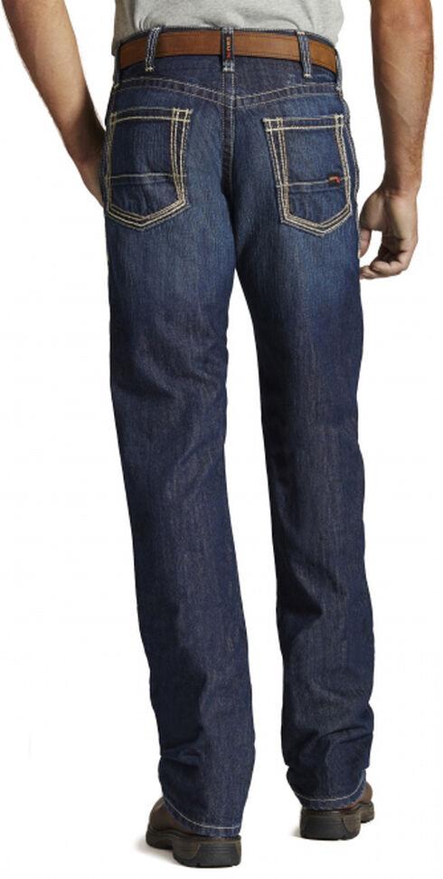 Ariat Men's Fire-Resistant M4 Bootcut Work Jeans, Denim, hi-res