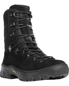 "Danner Men's Black Wildland Tactical Firefighter 8"" Boots, Black, hi-res"