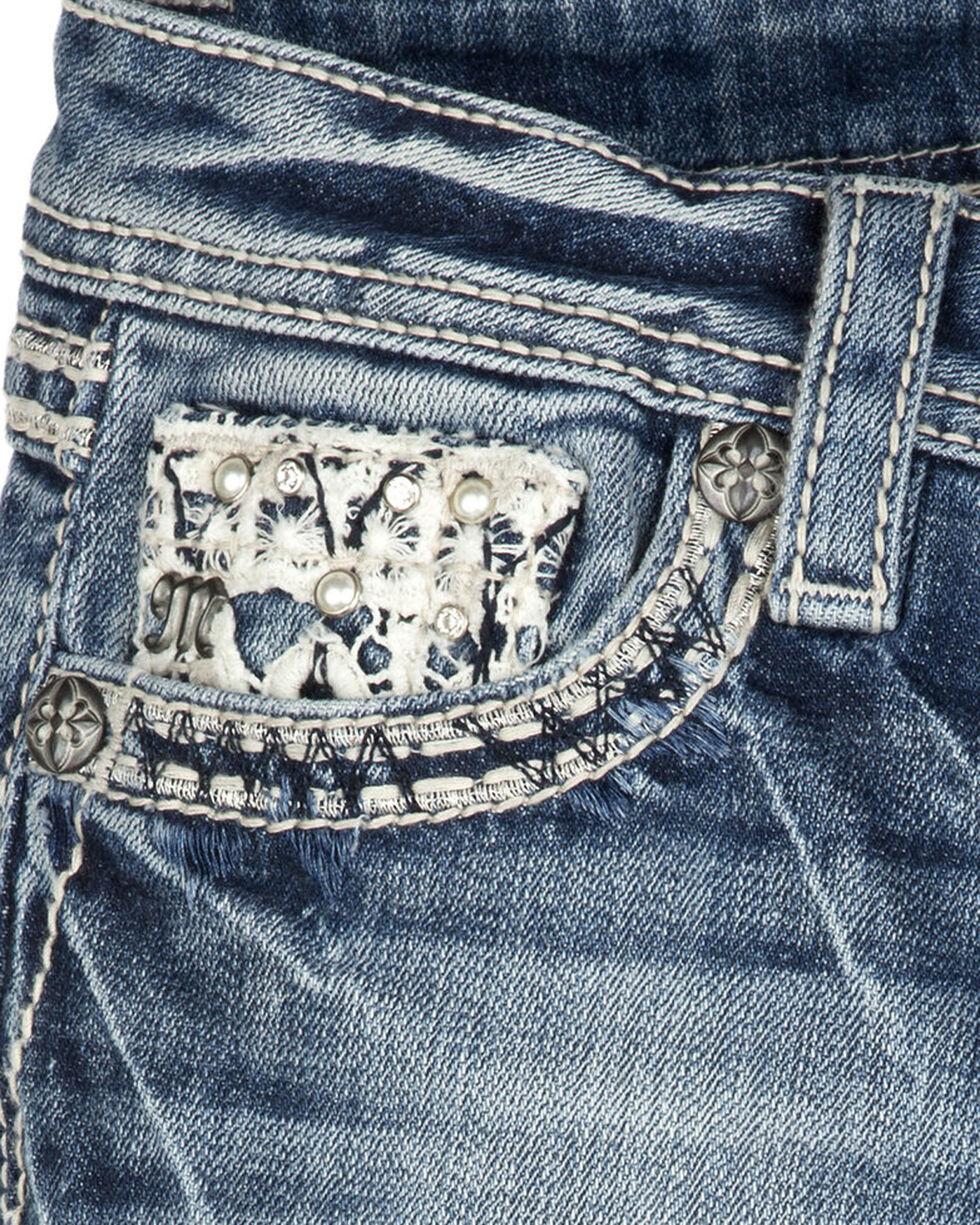 Miss Me Girls' Crossroads Boot Cut Jeans, Indigo, hi-res
