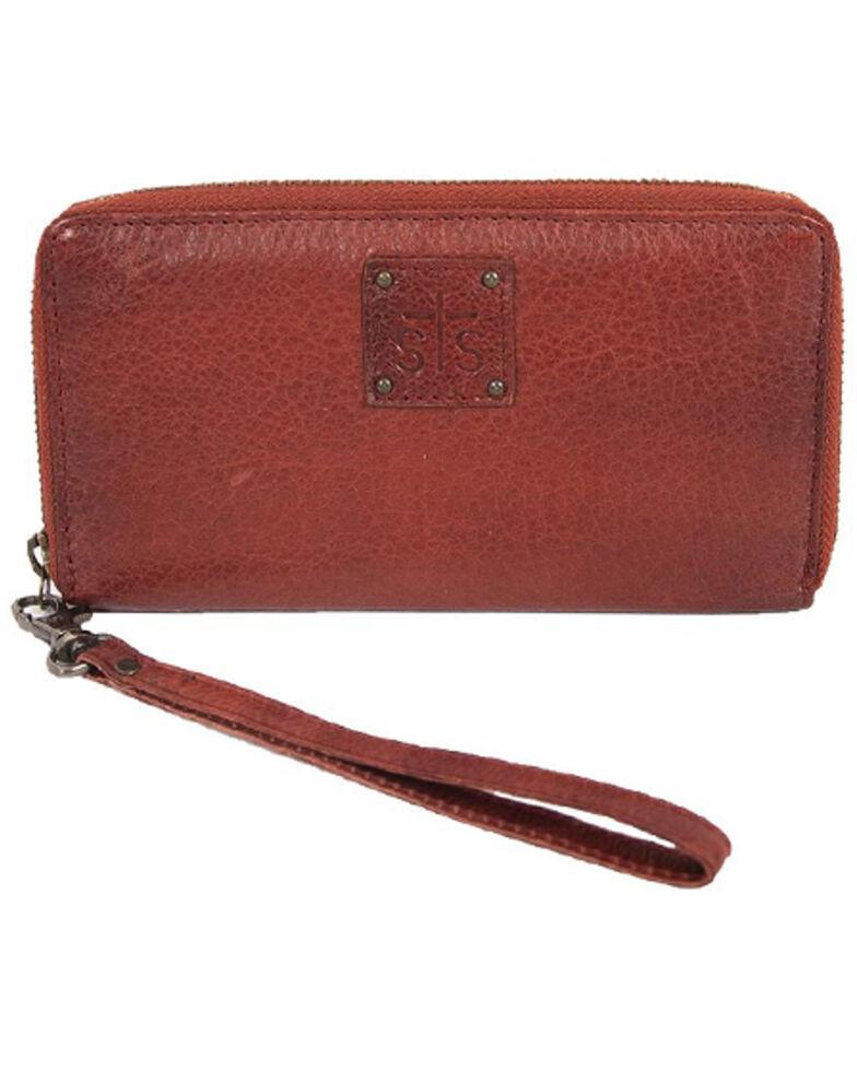 STS Ranchwear By Carroll Women's Reddish Brown Rosa Wallet, Russett, hi-res