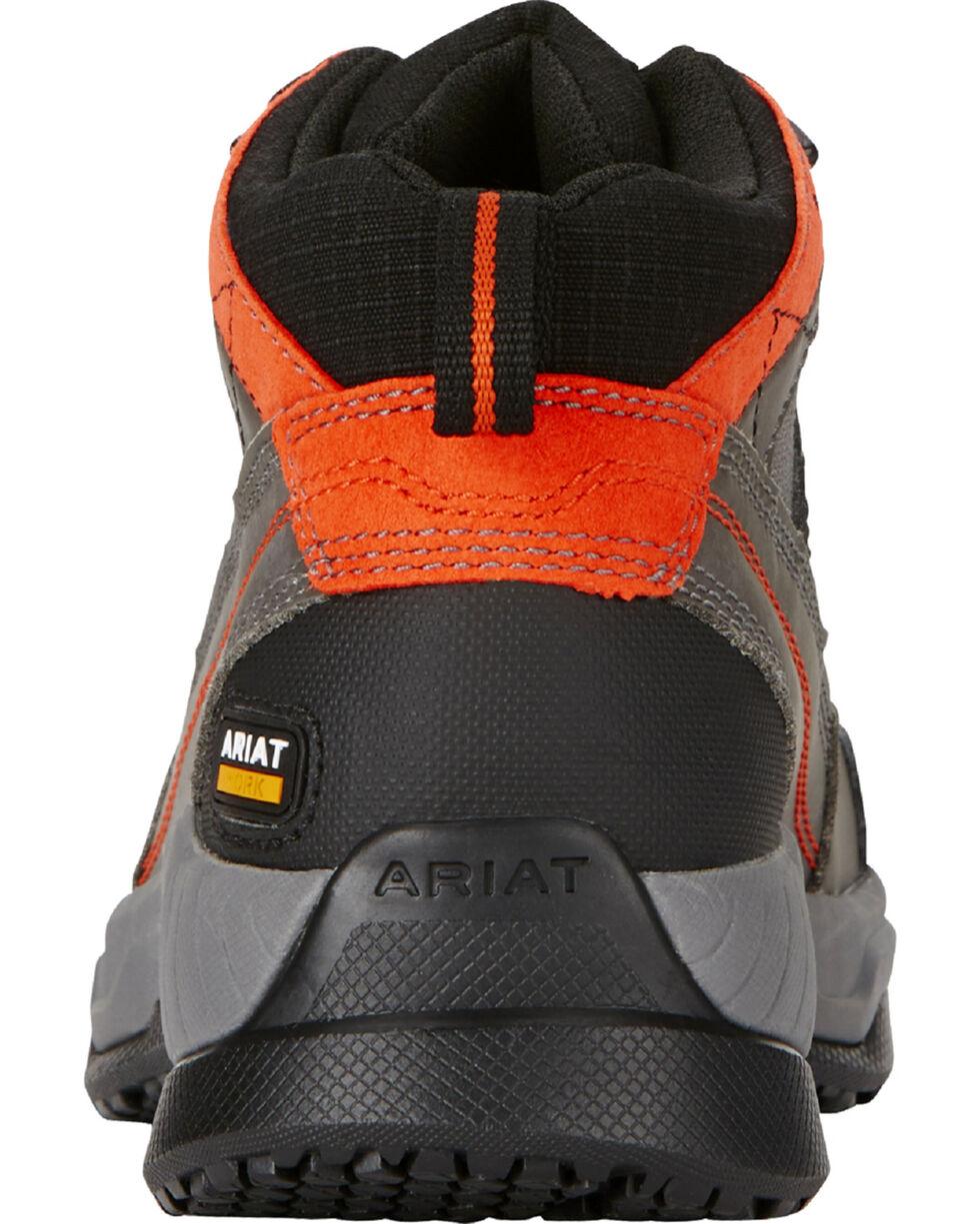 Ariat Women's Grey Contender Work Boots - Steel Toe , Grey, hi-res