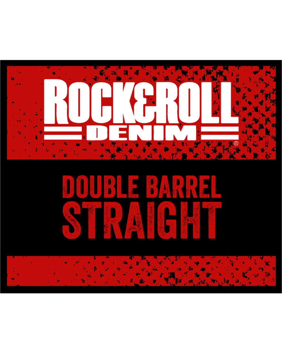 Rock & Roll Cowboy Men's Reflex Double Barrel Jeans - Straight Leg , Blue, hi-res