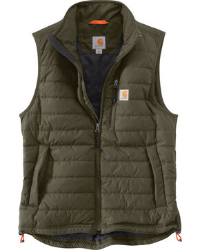 Carhartt Men's Gilliam Vest - Big and Tall , Moss Green, hi-res