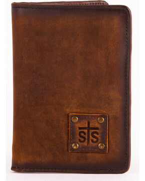STS Ranchwear Brown Magnetic Wallet , Brown, hi-res