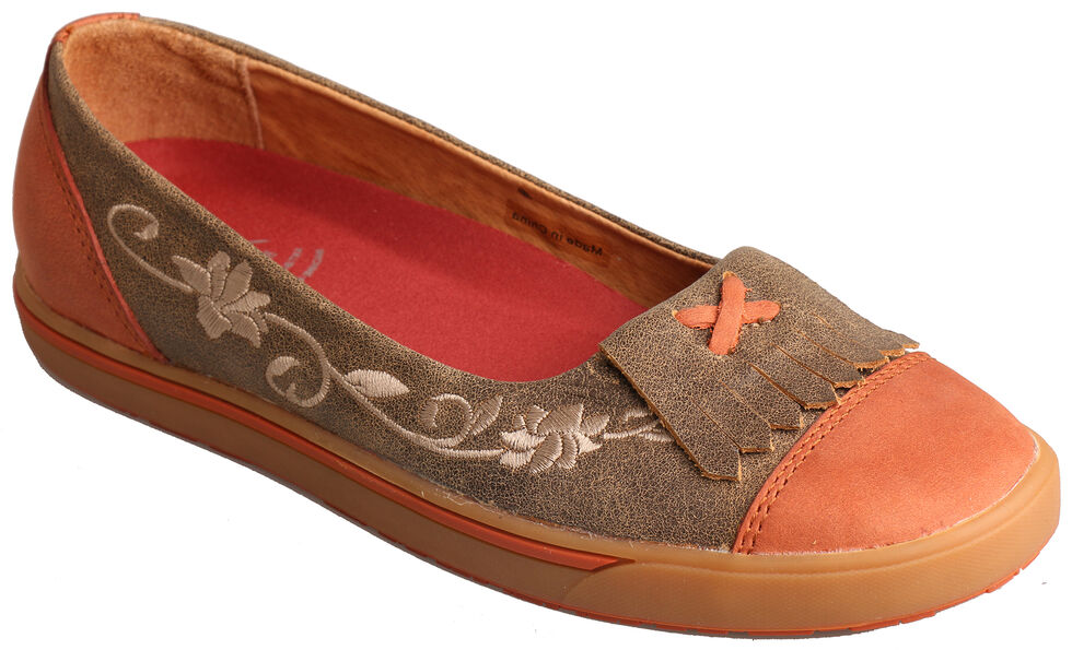 Twisted X Women's Sunburn Casual Slip-On Shoes , , hi-res