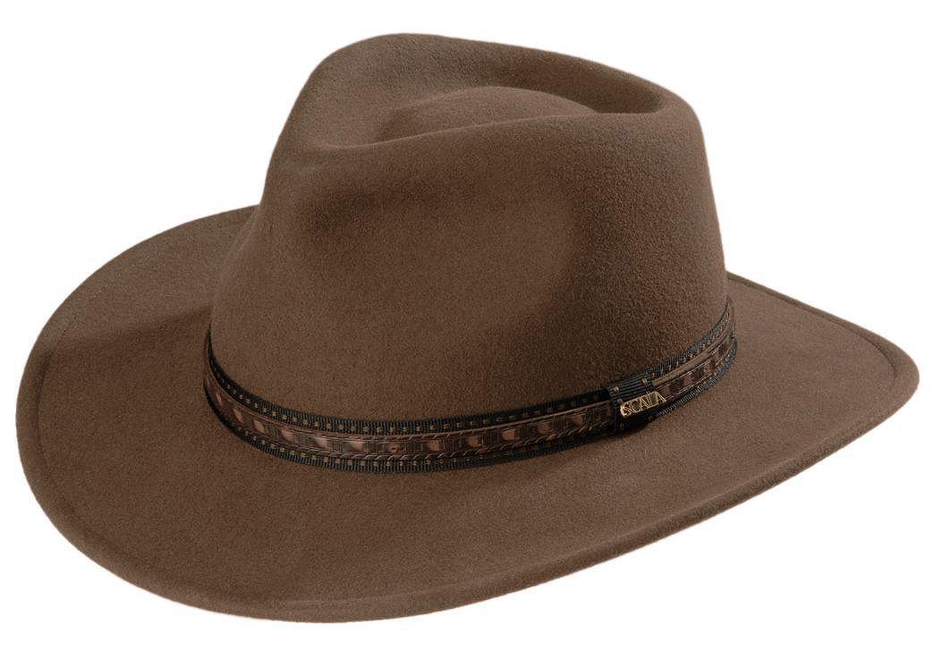 Scala crushable wool outback hat khaki hi res JPG 980x672 Scala wool hat d029e66bb1db