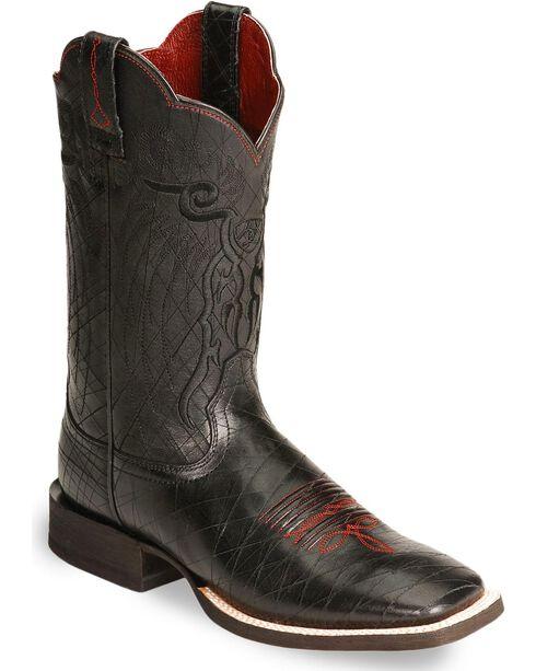 Ariat Mesteno Cowboy Boots - Square Toe, Black, hi-res