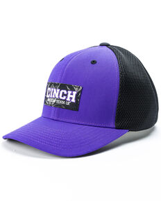 Cinch Mens Cinch American Denim Co. Flexfit Ball Cap fa40087d7689